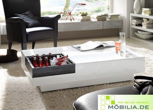 Coffee Table With Built In Tablet