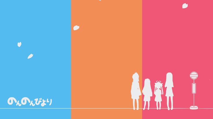 Anime Non Non Biyori  Wallpaper