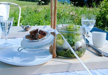 Salat im Weckglas
