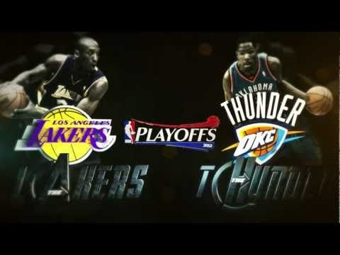 NBA Playoffs 2012 Round 2 - Los Angeles Lakers vs Oklahoma City Thunder Preview (Avengers Mix)