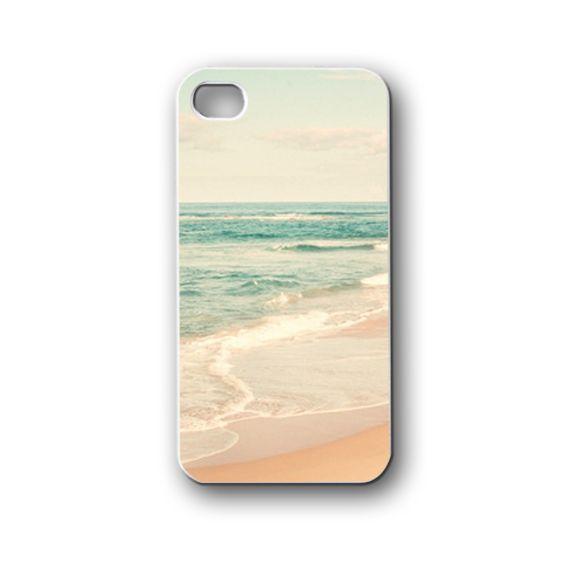 original beach beauty ocean - iPhone 4,4S,5,5S,5C, Case - Samsung Galaxy S3,S4,NOTE,Mini, Cover, Accessories,Gift
