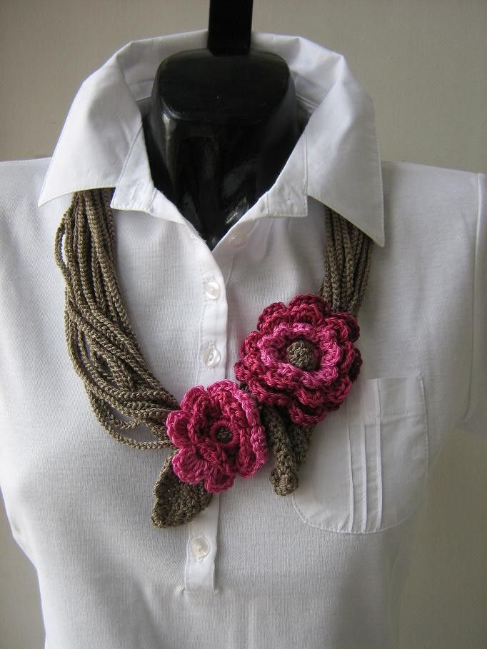 CROCHET JEWELRY by Suzann61 on Etsy