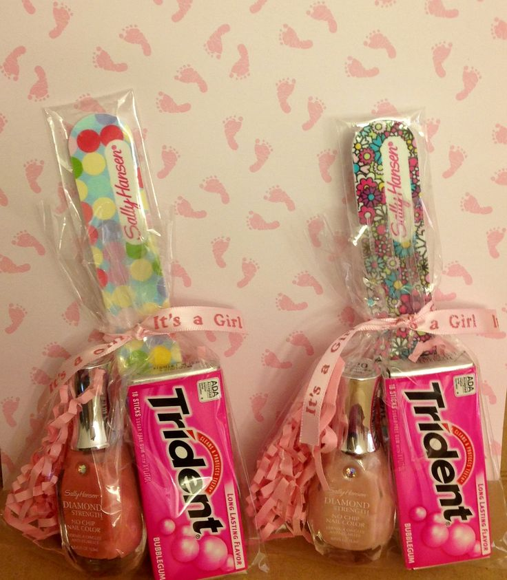 Baby Shower Favors. I Always Want To Do Nail Polish But That Canu0027t