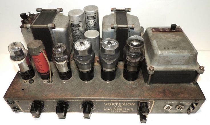 Vortexion Wimbledon Super 50 Valve Amplifier England In 230V 95% Original Cond | Consumer Electronics, Vintage Electronics, Vintage Audio & Video | eBay!