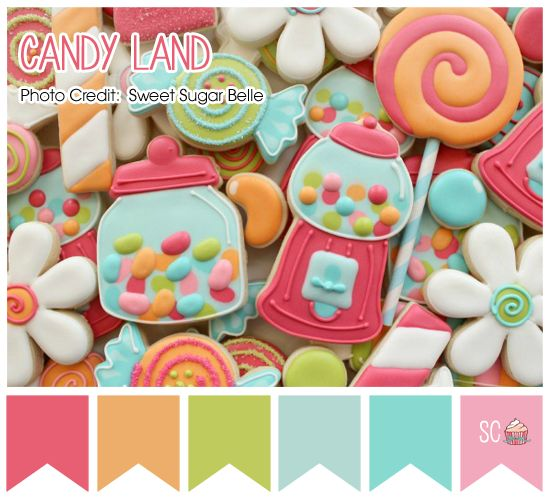 Candy Land - Color Palette  http://inspiresweetness.blogspot.com