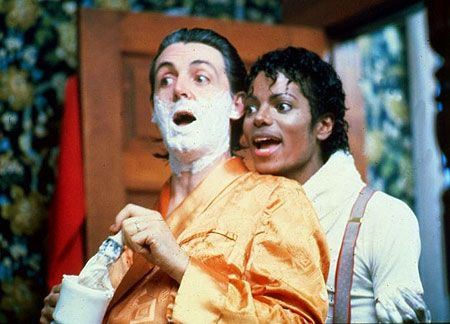 Paul McCartney and Michael Jackson: