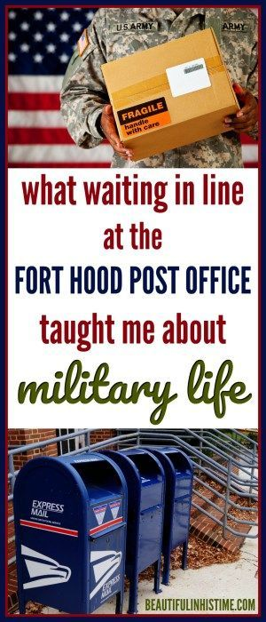 What I learned about military life at the Fort Hood post office