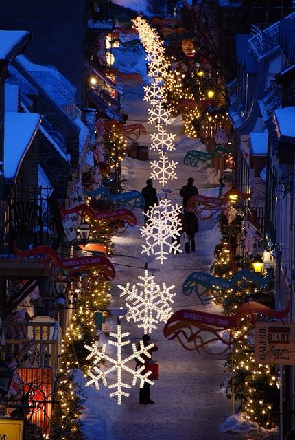 Plan a trip to Quebec City this Christmas! Check out popular destinations to skip in 2014 and places to go instead here. http://travel.yahoo.com/photos/popular-destinations-to-skip-in-2014-and-places-to-go-instead-slideshow/
