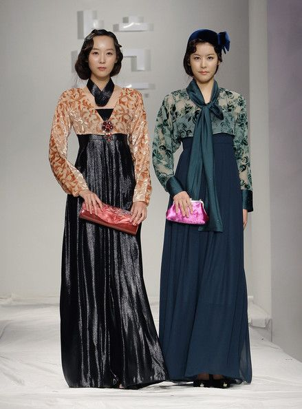 More Modern hanbok. Very 1930s silhouette, but I love it.