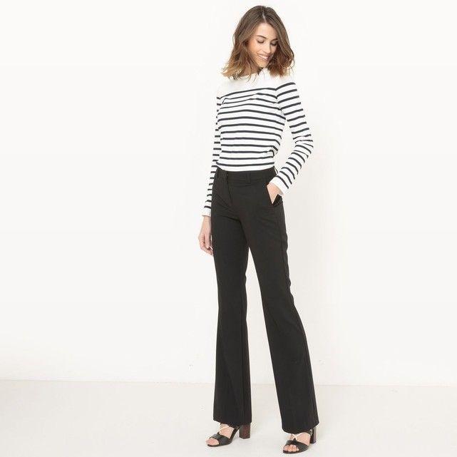 Pantalon bootcut entrejambe 83 cm