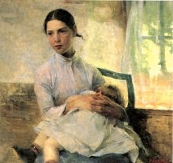 Helene Schjerfbeck (The Nursemaid)