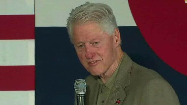 After a rare campaign appearance from Melania Trump, Bill Clinton reacts to her talking points saying he never felt so bad for anybody in his life.
