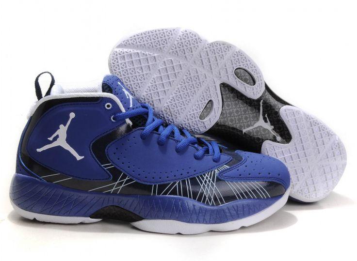 Air Jordan 2012 Blue Black White, Style code: 484654-106