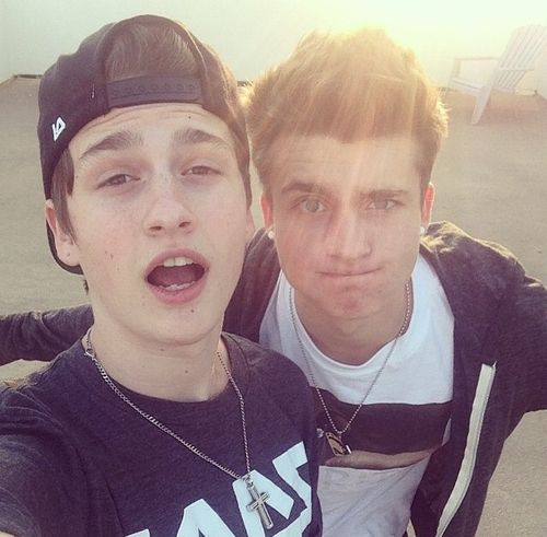 Chris and Crawford Collins! My 2 favorite nonfamily boys in the world!! <3 <3 <3