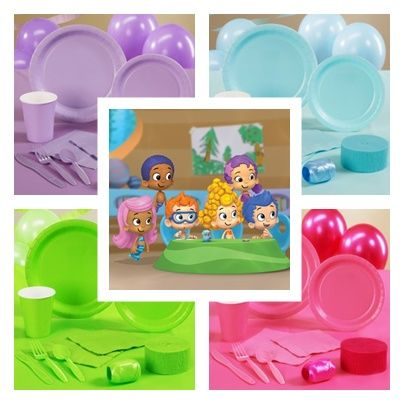 Bubble Guppies Party Ideas and Supplies