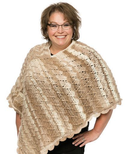 Free Crochet Pattern For Poncho Sweater : 800 best Free Crochet Shawls, Ponchos and Sweater Patterns ...