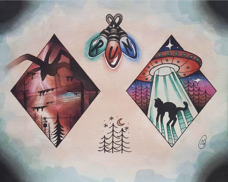Картинки, магическая открытка своими руками очень странные дела