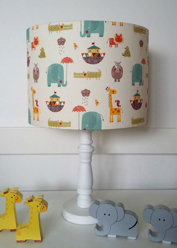 Noah's Ark Nursery Lamp ~ Great Noah's Ark Nursery Decor