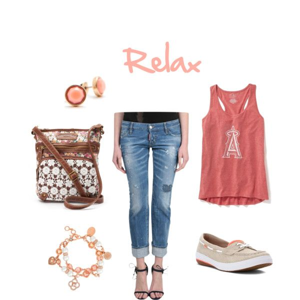 A freestyle set Relax by besyata on Polyvore featuring мода, Old Navy, Dsquared2, Keds, UNIONBAY, Henri Bendel and Joules