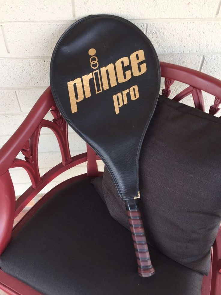 Prince Pro Tennis Racquet 4 3/8 Full Leather Grip Made In Holland  | eBay