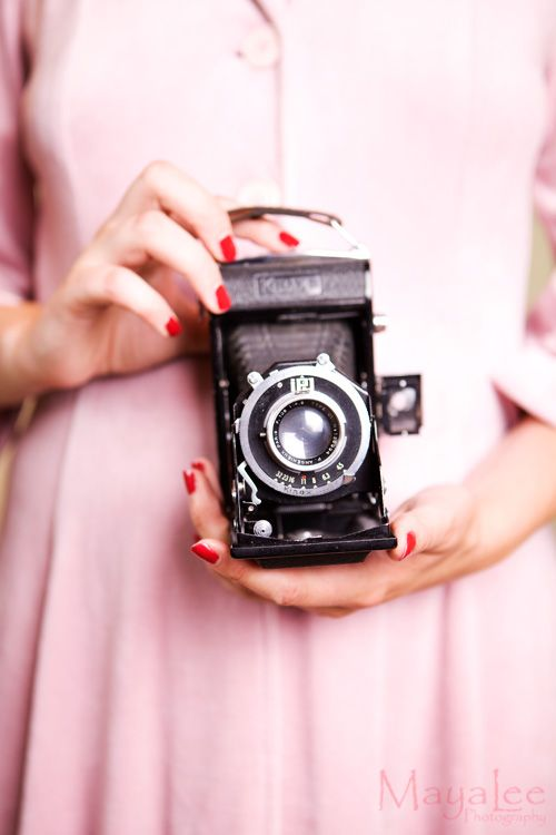 Vintage camera love ♥ MayaLee Photography