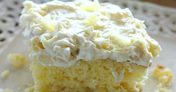 5 minutes! C'est tout le temps dont vous aurez besoin pour préparer ce sublime gâteau à l'ananas!