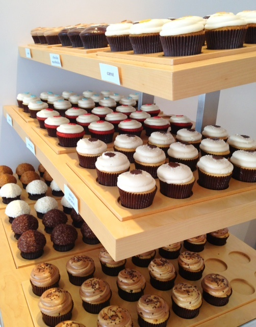 10 freshly-baked gourmet flavours at DLish in Toronto. One of our favourite shops in West Queen West