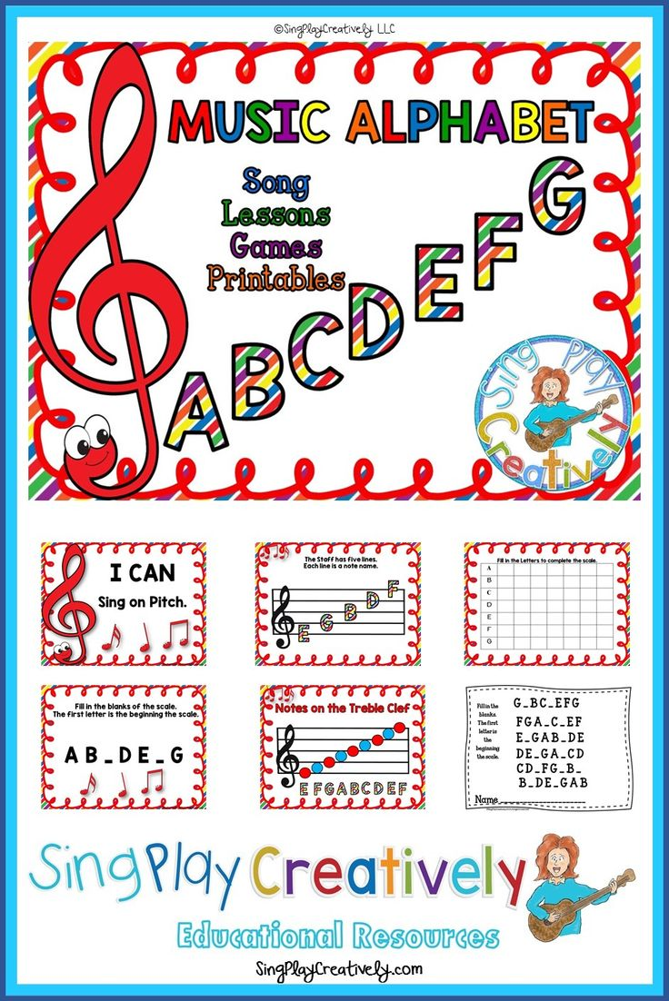 learn the music alphabet through song and games. Black Bedroom Furniture Sets. Home Design Ideas