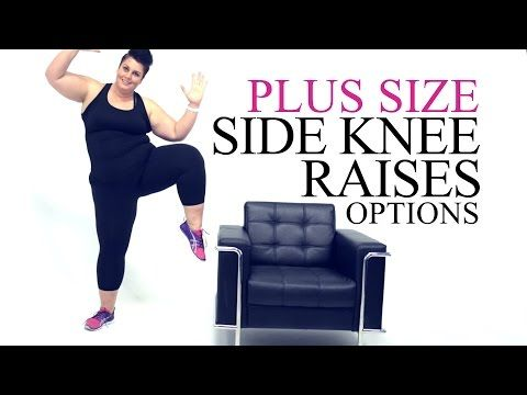 Booty Core Legs Plank Modification - plus size - workout - episode 6 - YouTube