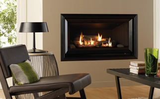 Symmetry Gas Log Flame Fire Product Shot