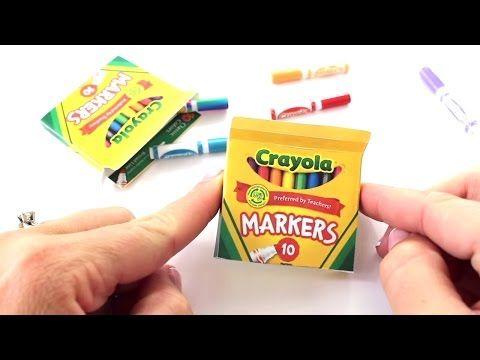 Doll School Binder | American Girl Doll School Supplies Crafts - YouTube