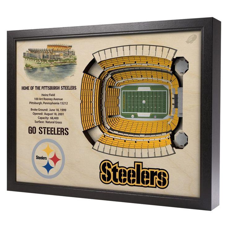 NFL Pittsburgh Steelers StadiumViews Wall Art - Heinz Field