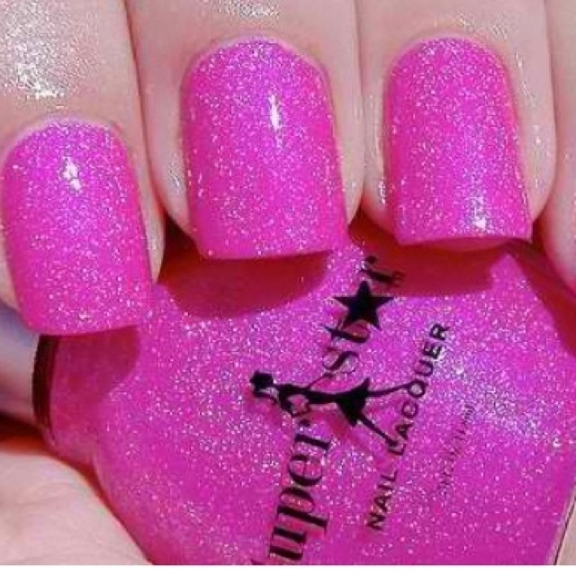 Pretty Pink Nails!Nails Art, Pink Sparkle, Pink Nails, Sparkle Nails, Glitter Nails, Hot Pink, Nails Polish, Pink Glitter, Sparkly Nails