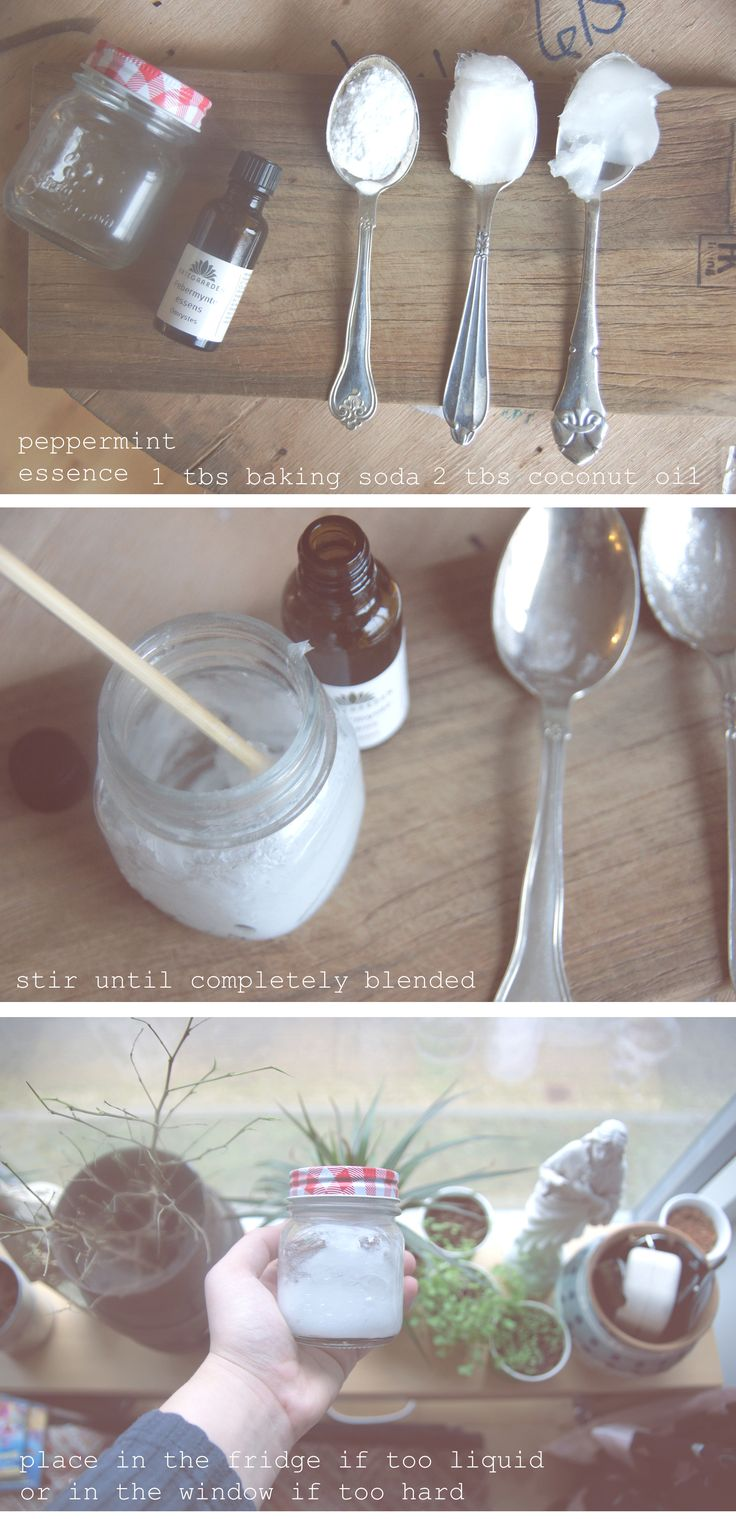 Zero Waste / DIY Tooth Paste