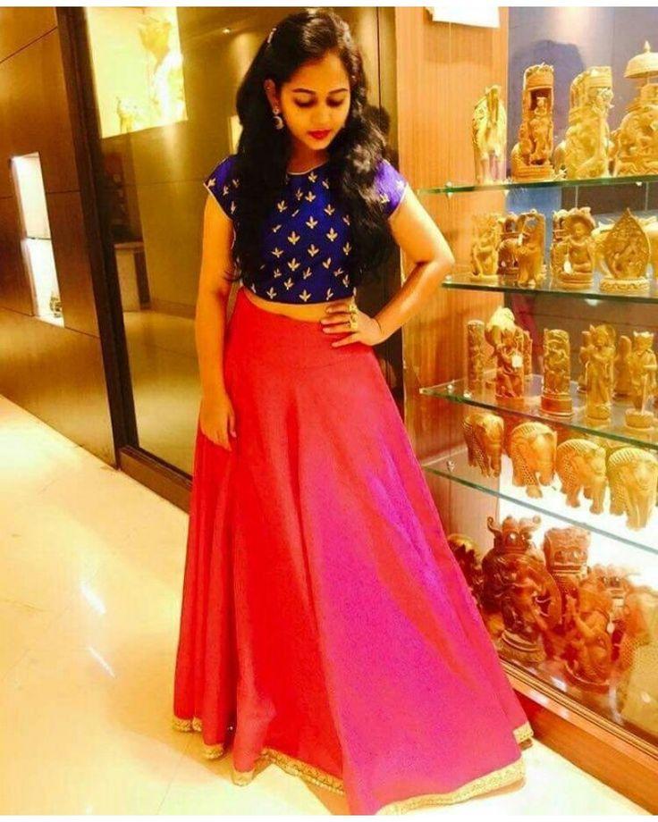 Buy Pink Color Embroidered Lehenga Choli - Bogglingshop