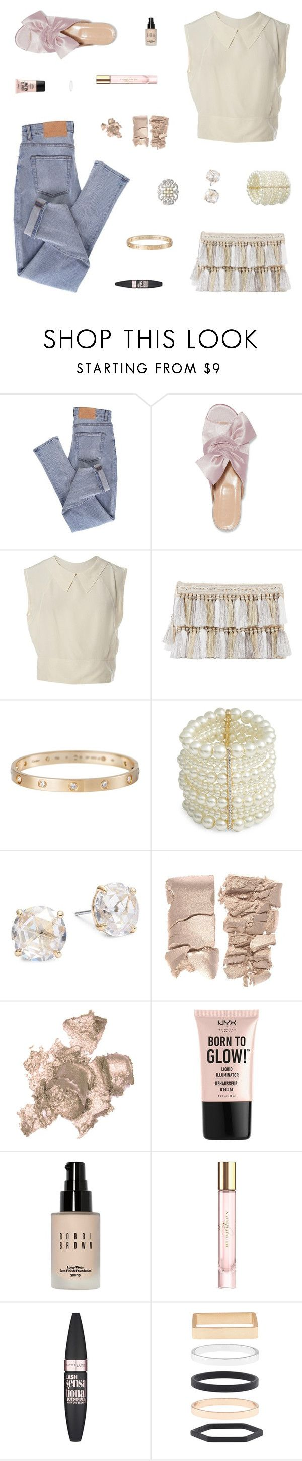 """""""Another Thing Coming"""" by belenloperfido ❤ liked on Polyvore featuring Cheap Monday, Iris & Ink, Chanel, Cartier, Design Lab, Kate Spade, By Terry, NYX, Bobbi Brown Cosmetics and Burberry"""