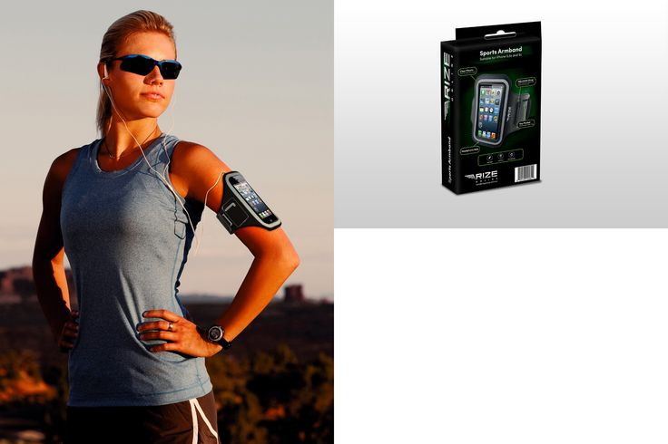 If you use your phone as a MP3 player during workouts, or don't want to go running without it, our armband is the ideal solution to give you a practical, hands-free way of keeping your handset readily available with you. #iPhone #armband