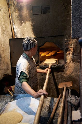 Traditional bakery - Fes, Morocco