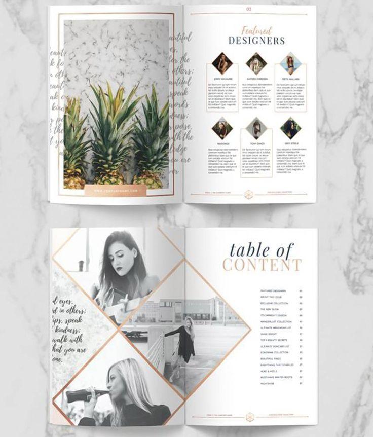 #magazine #layout #graphicdesign #design #spread