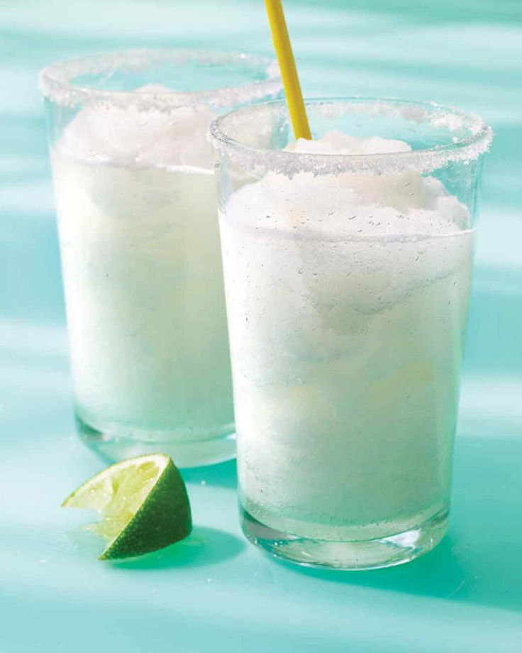 Frozen Margaritas | Martha Stewart Living - A blender is the only power tool needed to create these icy treats.