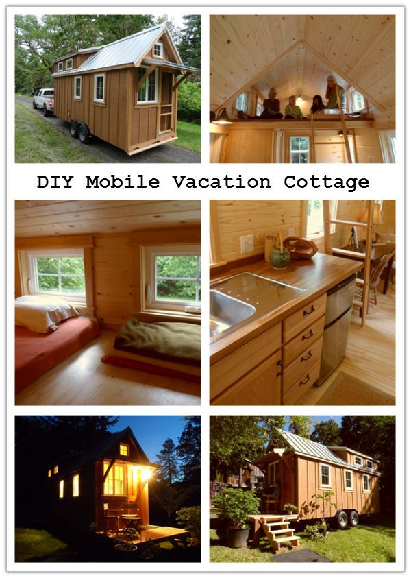 DIY Mobile Vacation Cottage | Craft and House
