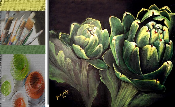 Artichoke canvas
