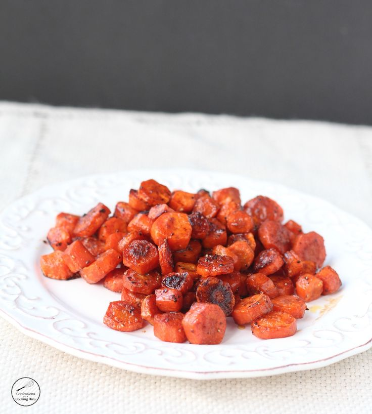 Roasted Balsamic Carrots are tender, sweet and a bit tart from the balsamic vinegar. A must make side dish. I don't like carrots. I should say that I don't like cooked carrots. I'll eat them raw all day long, but cooked not so much. I will add them to stews, soups and roasts. My husband …