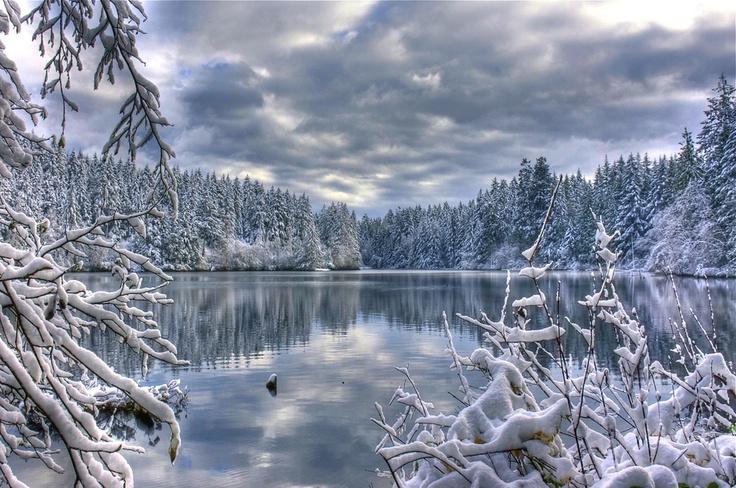 Durrance Lake, Vancouver Island (winter)