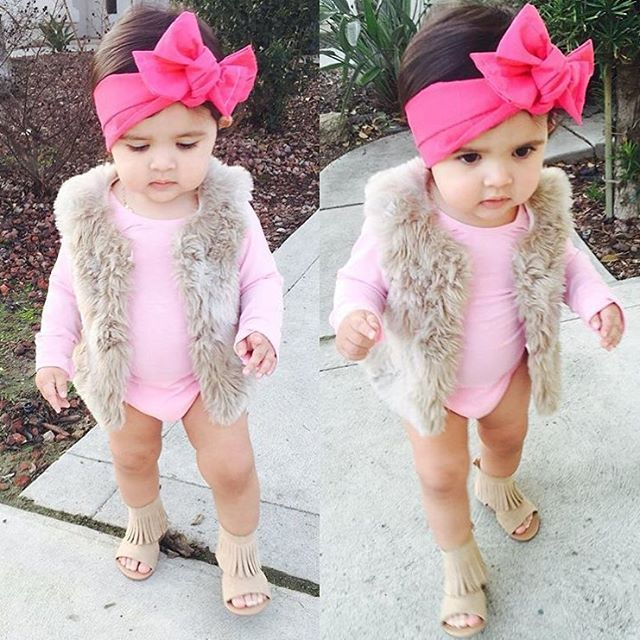 """4,413 Likes, 241 Comments - KidzOutfitOfTheDay (@kidzootd) on Instagram: """"Little cutie  Rocking her outfit   @vee_milania  WEBSITE - WWW.KIDZOOTD.COM  For a chance to be…"""""""