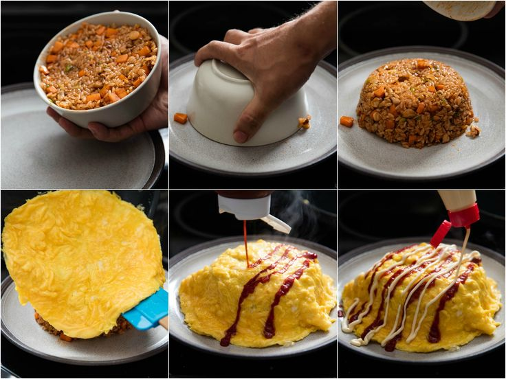 Japan's omurice, which also goes by the names omumeshi and omuraisu, is an addictive dish of fried rice with an omelette. It's surprisingly easy to make at home. Here are two recipes—one with ketchup, the other with okonomiyaki sauce—to get you started.