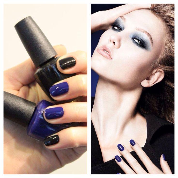 OPI Black & Blue