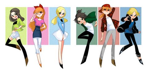 Powerpuff Girls and Rowdyruff Boys