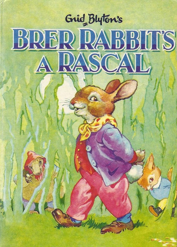Brer Rabbit Enid Blyton vintage Children's Book Collectible. Still have this, in fact, was reading it to my sons tonight.