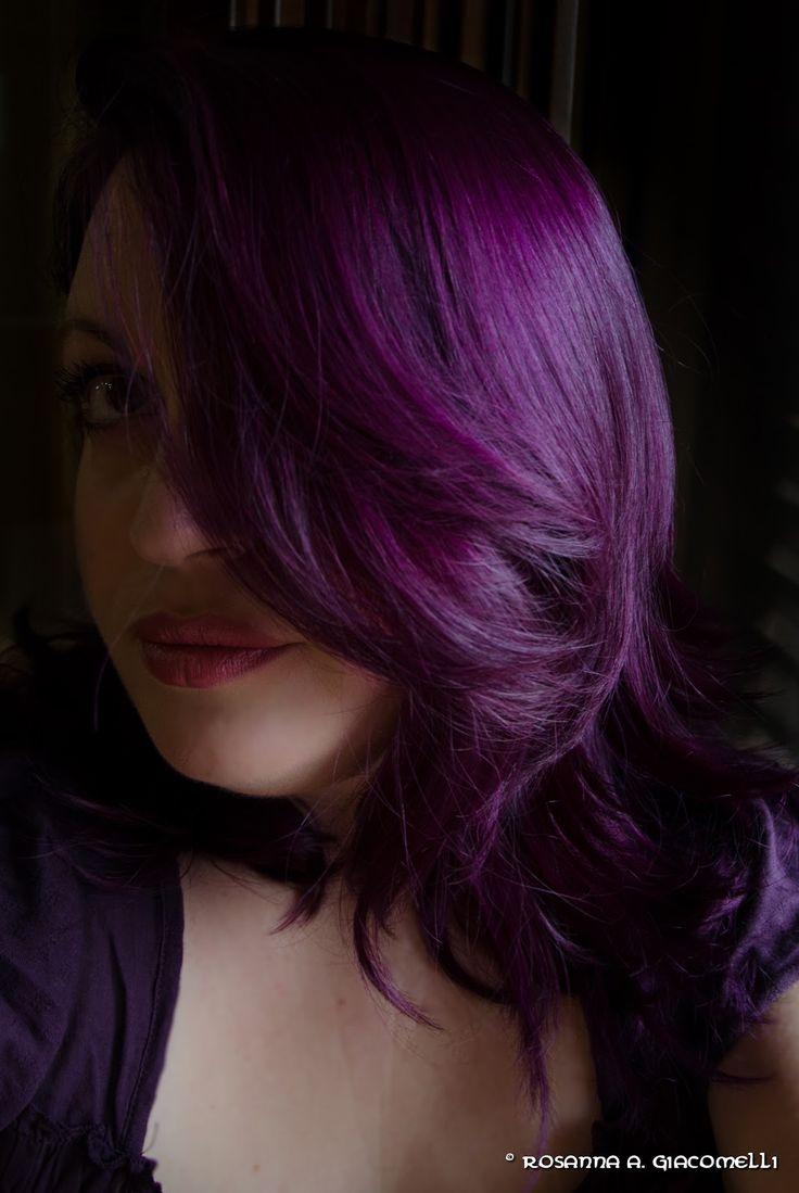 Fidatevi! L'abbiamo provato: Tinture per capelli. I miei nuovi capelli viola!